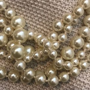 J. Crew Jewelry - J.Crew Pearl Twisted Hammock Necklace